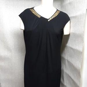 Anne Klein Black Cocktail Dress (NWT)